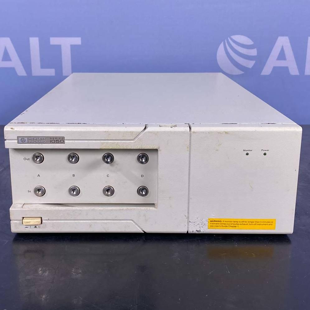 Hewlett Packard 1050 On-Line Vacuum Degasser Model  G1303A Image