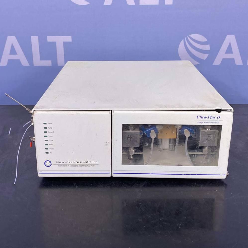 Micro-Tech Scientific Ultra Plus II Pump Interface Module and Controller Image