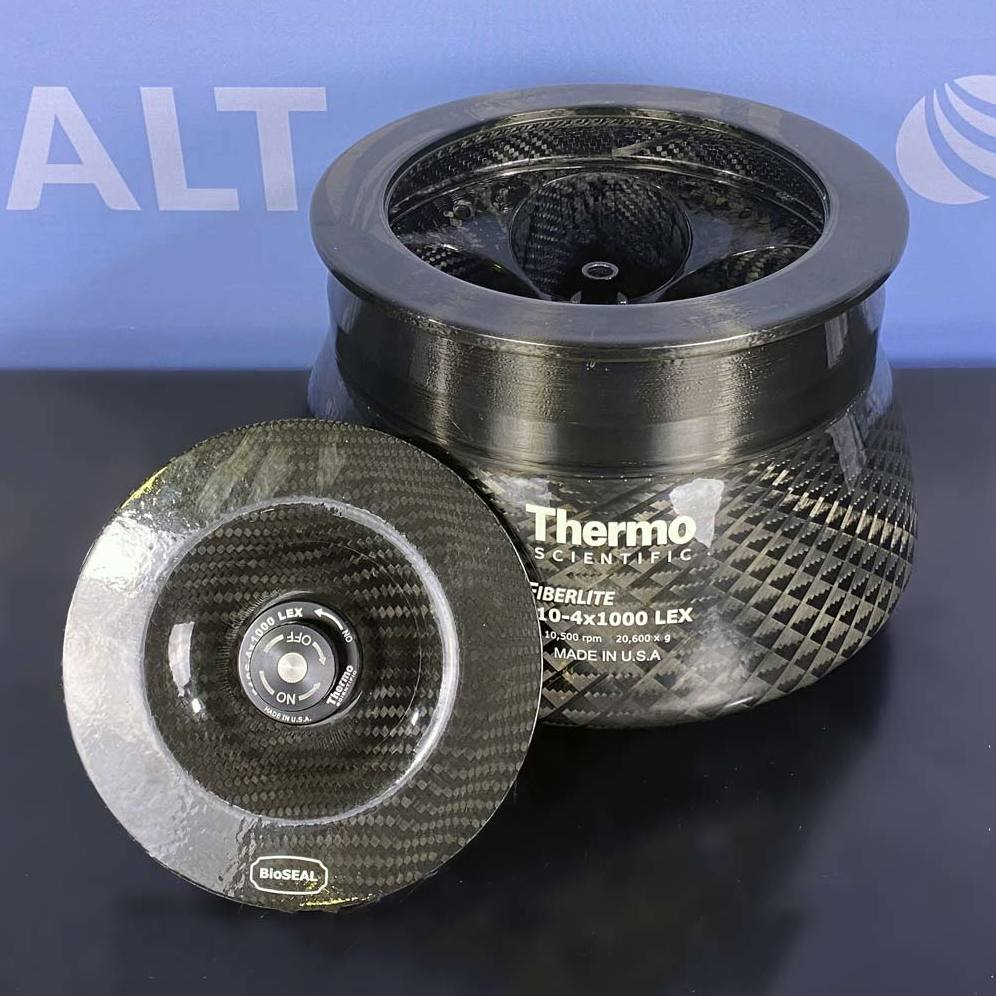 Thermo Fiberlite F10-4 x 1000 LEX Fixed Angle Carbon Fiber Rotor Image