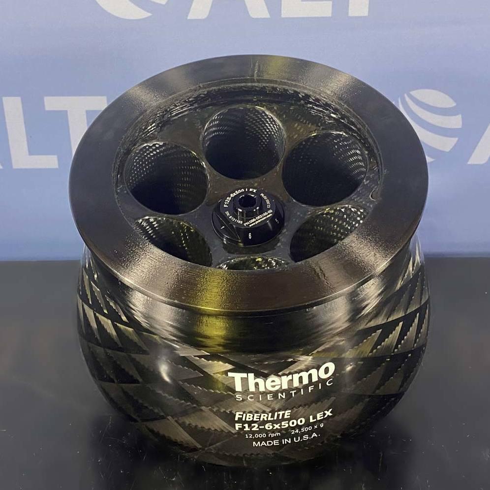 Thermo Fiberlite Model F12-6 x 500 Fixed Angle Carbon Fiber Rotor Image