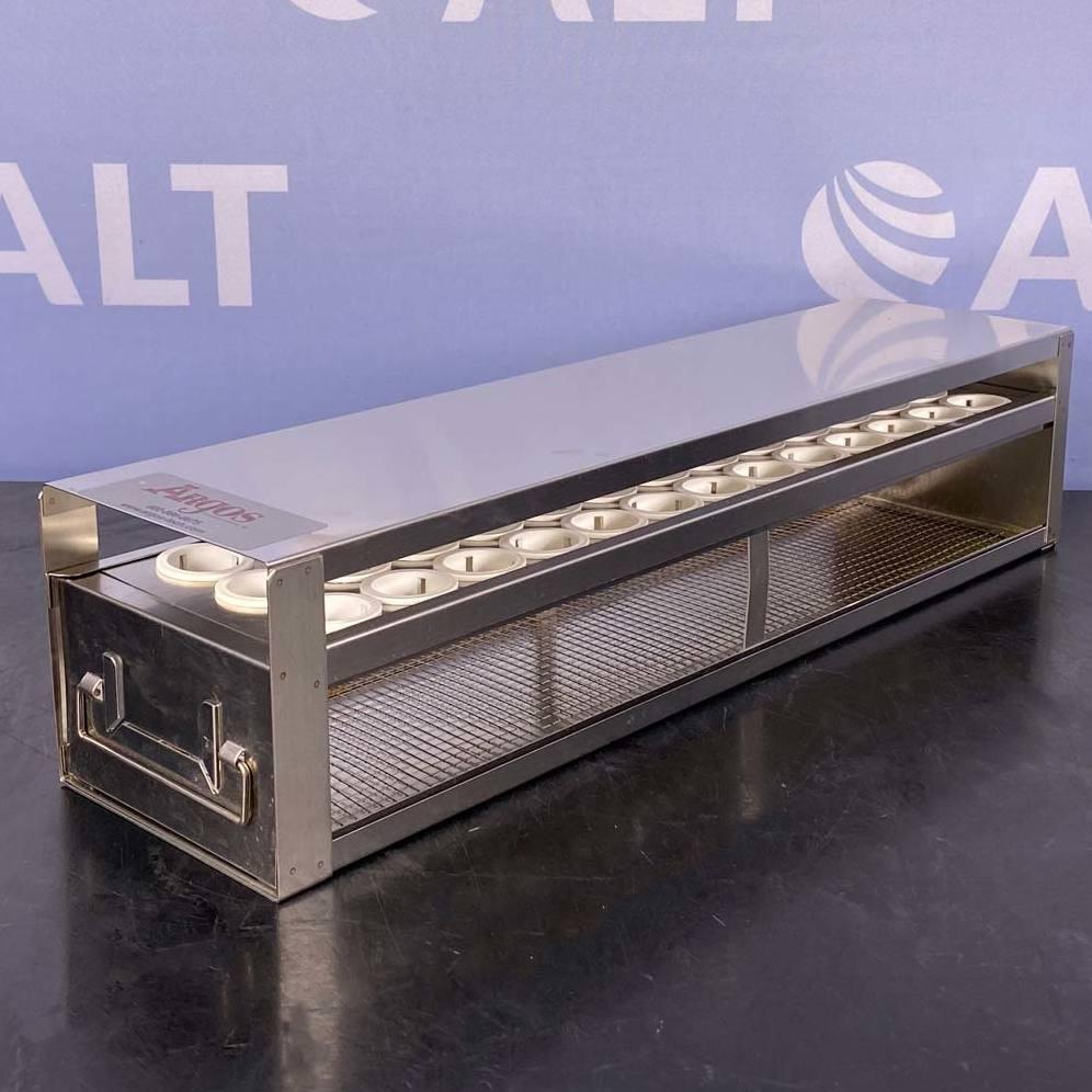 Argos PolarSafe Upright Freezer Drawer Rack for 50 mL Centrifuge Tubes; 1 Drawer, Holds 39 Tubes Image