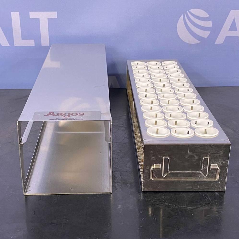 PolarSafe Upright Freezer Drawer Rack for 50 mL Centrifuge Tubes; 1 Drawer, Holds 39 Tubes Name