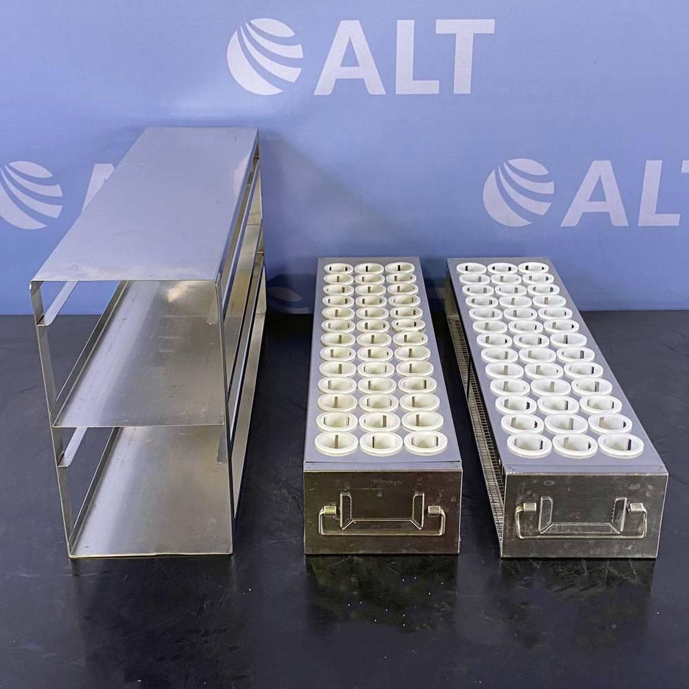 Argos PolarSafe Upright Freezer Drawer Rack for 50 mL Centrifuge Tubes; 2 Drawers, Holds 78 Tubes Image