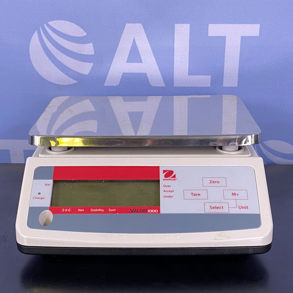 Valor 1000 Compact Precision Scales, Model V11P6 Name