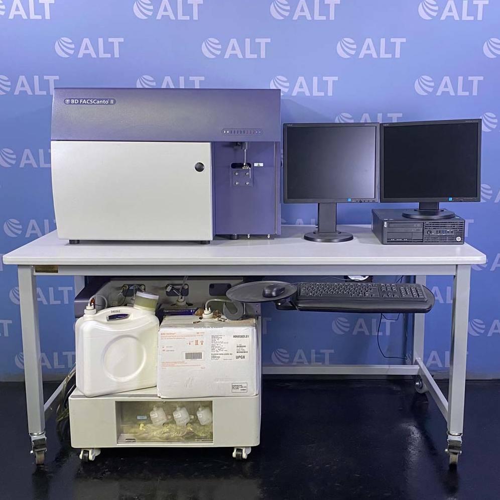 BD Biosciences FACSCanto II Flow Cytometer Image