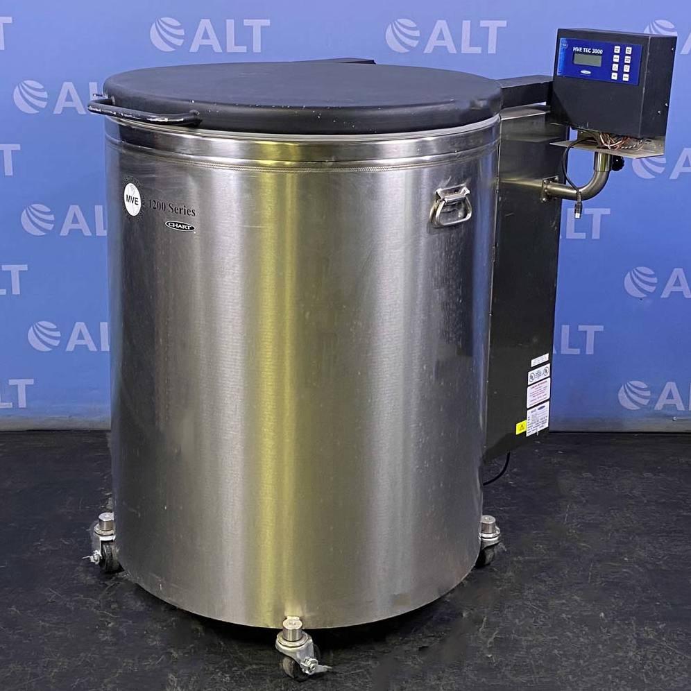 MVE Liquid Nitrogen Freezer, Model 1223F Image