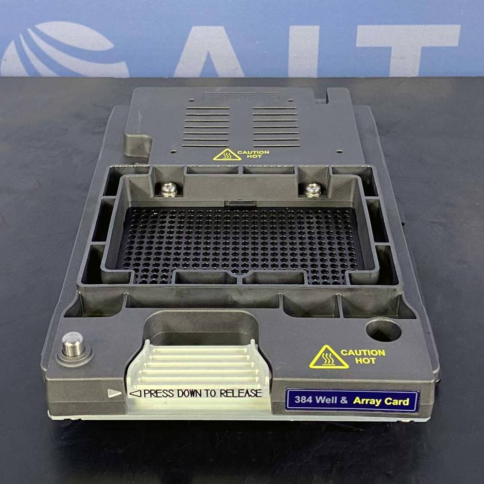 ViiA 7 System 384-Well/Array Card Heated Cover (PN 4453555) Name