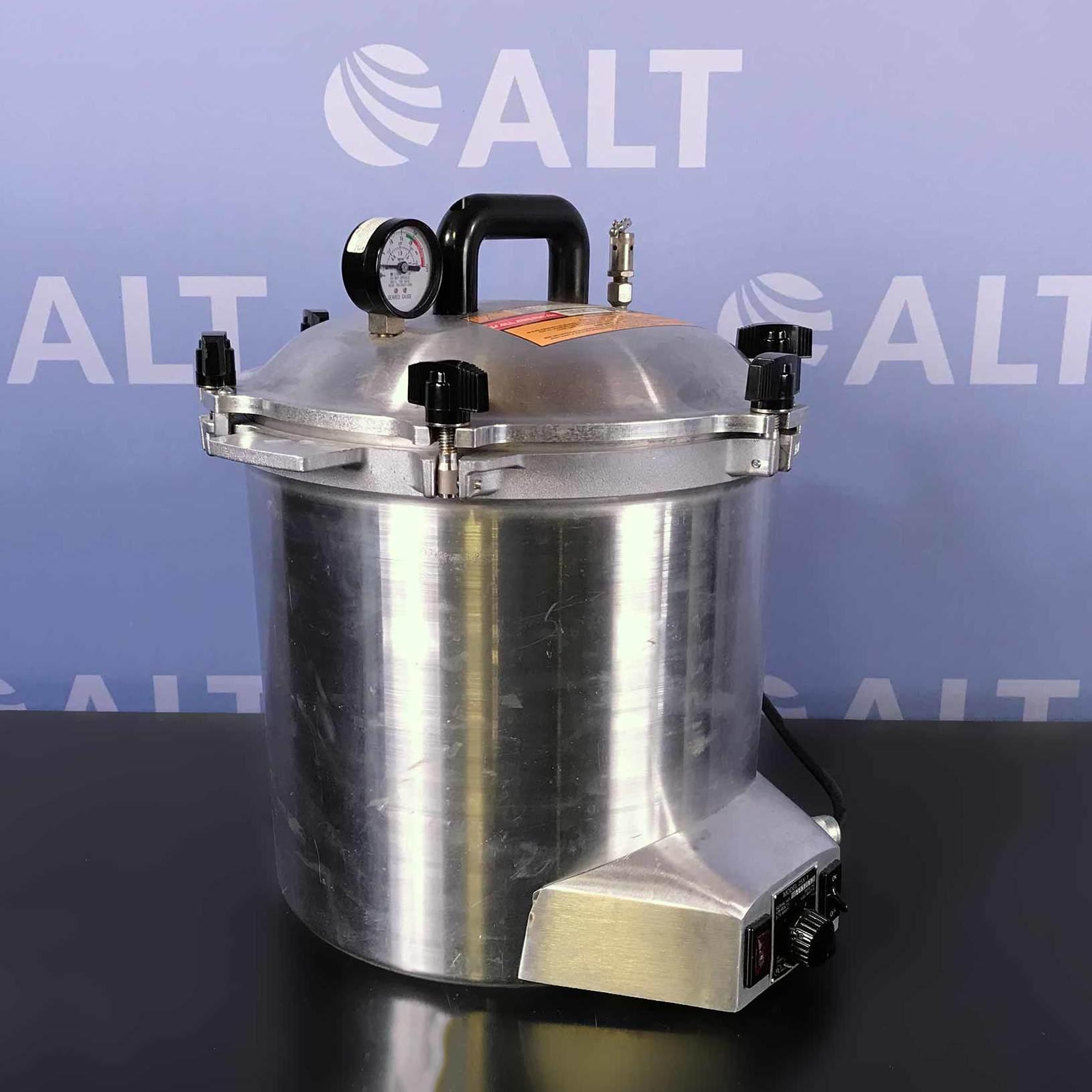 All American  Model 25x-1 Electric Steam Sterilizer 120V Image