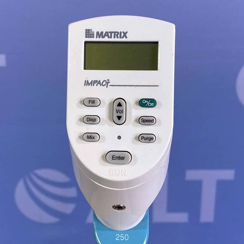 Matrix Technologies Impact 250 uL 12-Channel Electronic Pipette Image