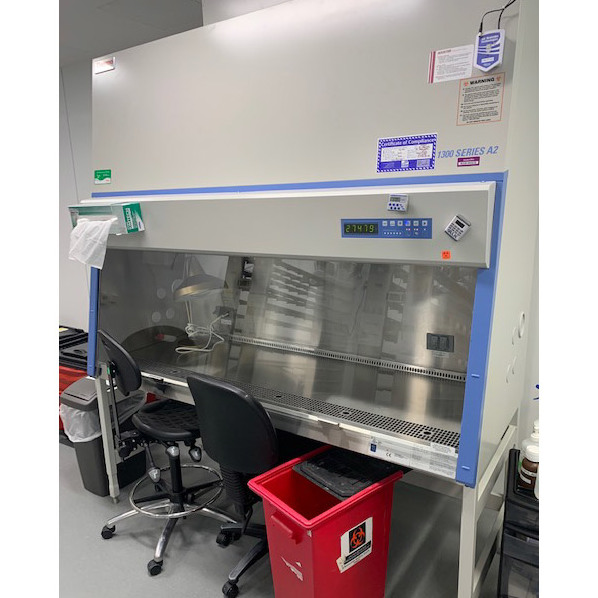 Thermo Scientific 1300 Series A2 Hood With External Vent Image