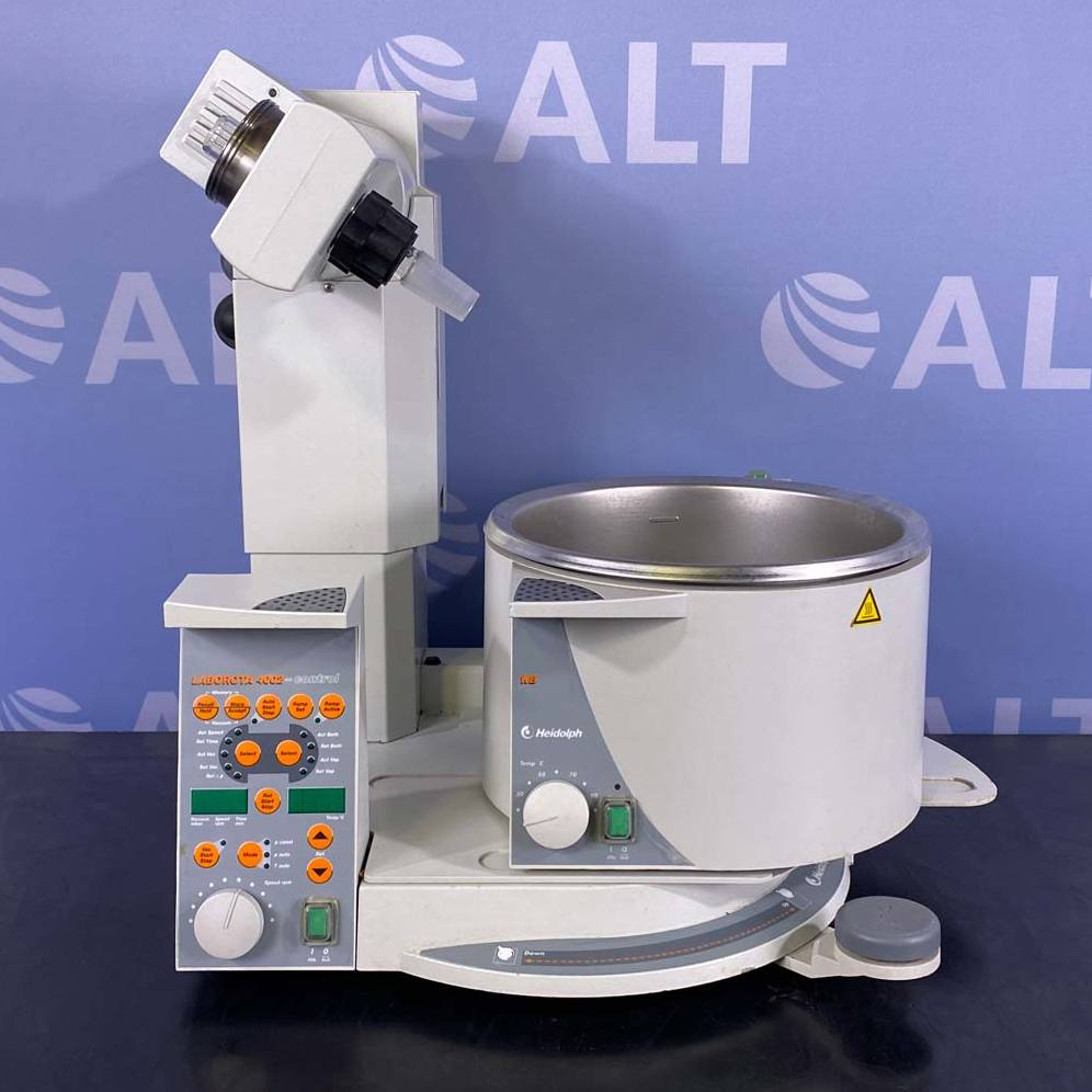 Heidolph Laborota 4002 Rotary Evaporator with Vacuum Sensor and Water Bath Image