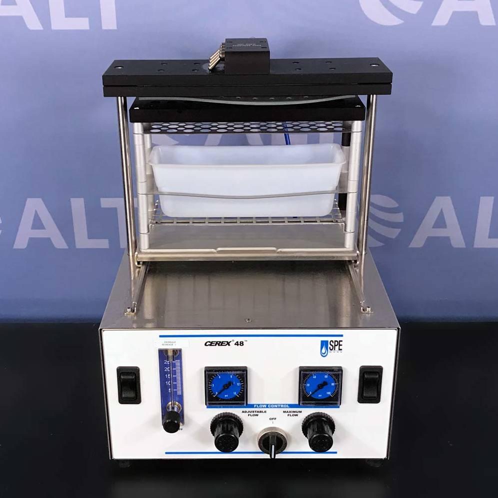 SpeWare Cerex 48 Sample Concentrator Positive Pressure Manifold Image