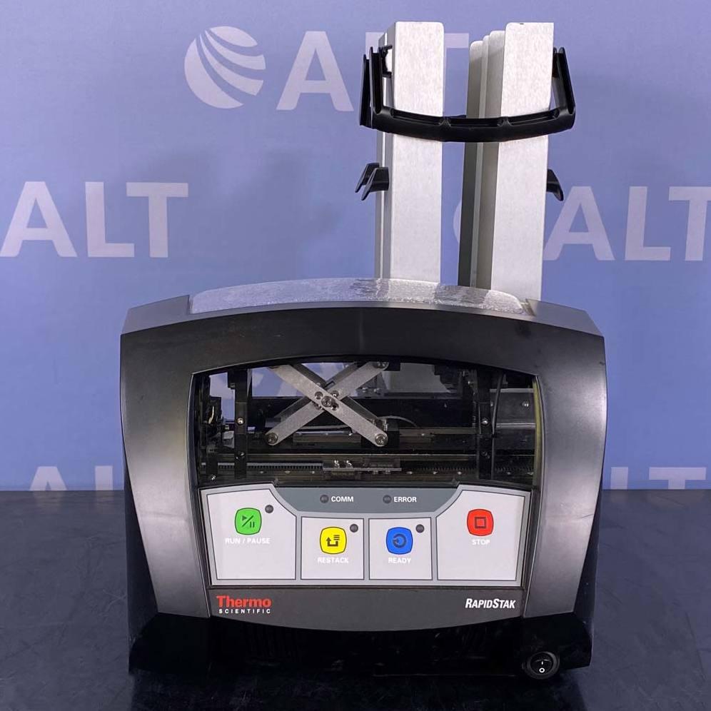 RapidStak Two Column Microplate Stacker, Model F01350 Name