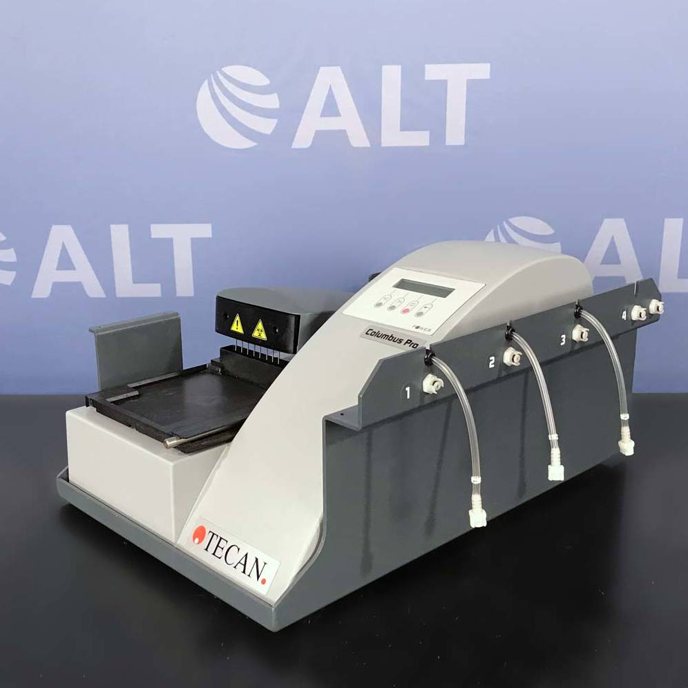 Tecan Freedom EVO 75 Liquid Handling System With Columbus Pro Microplate Washer And Sunrise Microplate Reader Image