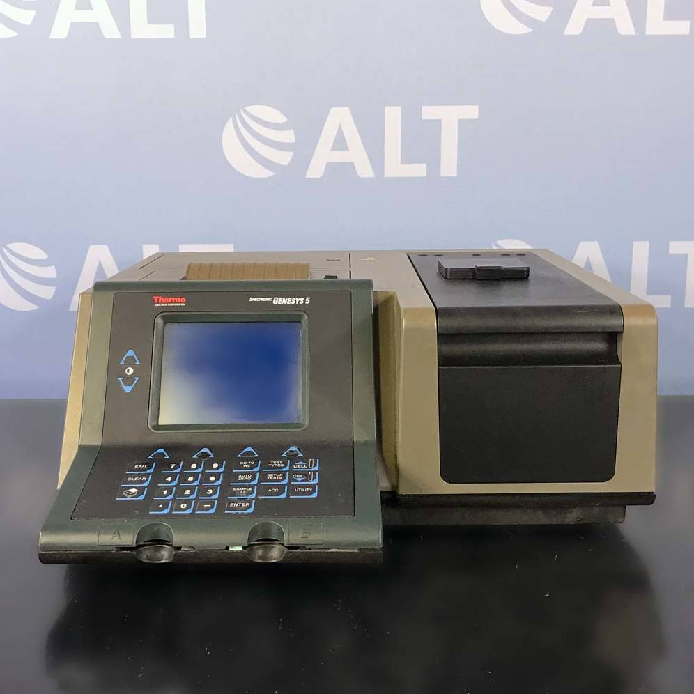 Thermo Spectronic Genesys 5 UV/Visible Spectrophotometer CAT No. 336008 Image