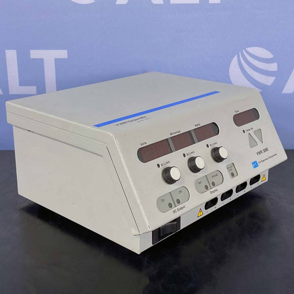 3000 EC Apparatus Electrophoresis Power Supply Name