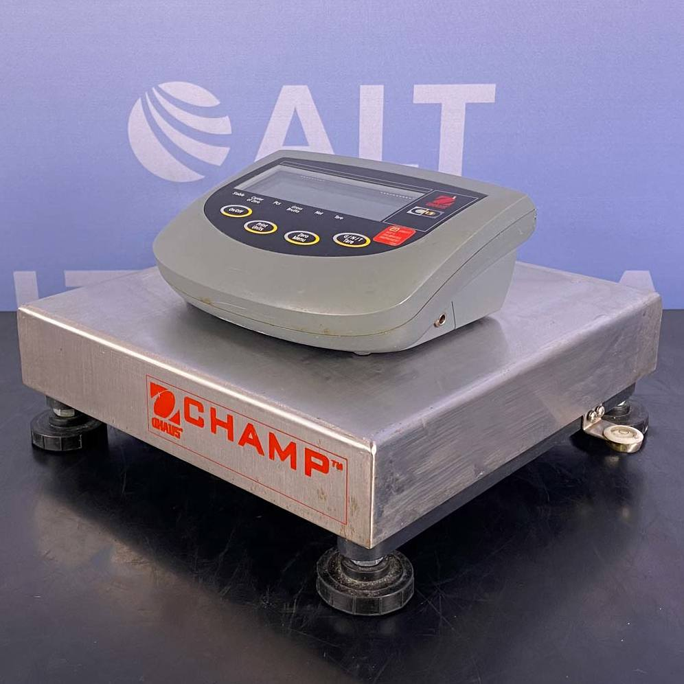 Ohaus Champ Scale BASE With CD-11 Weighing Indicator Terminal Image