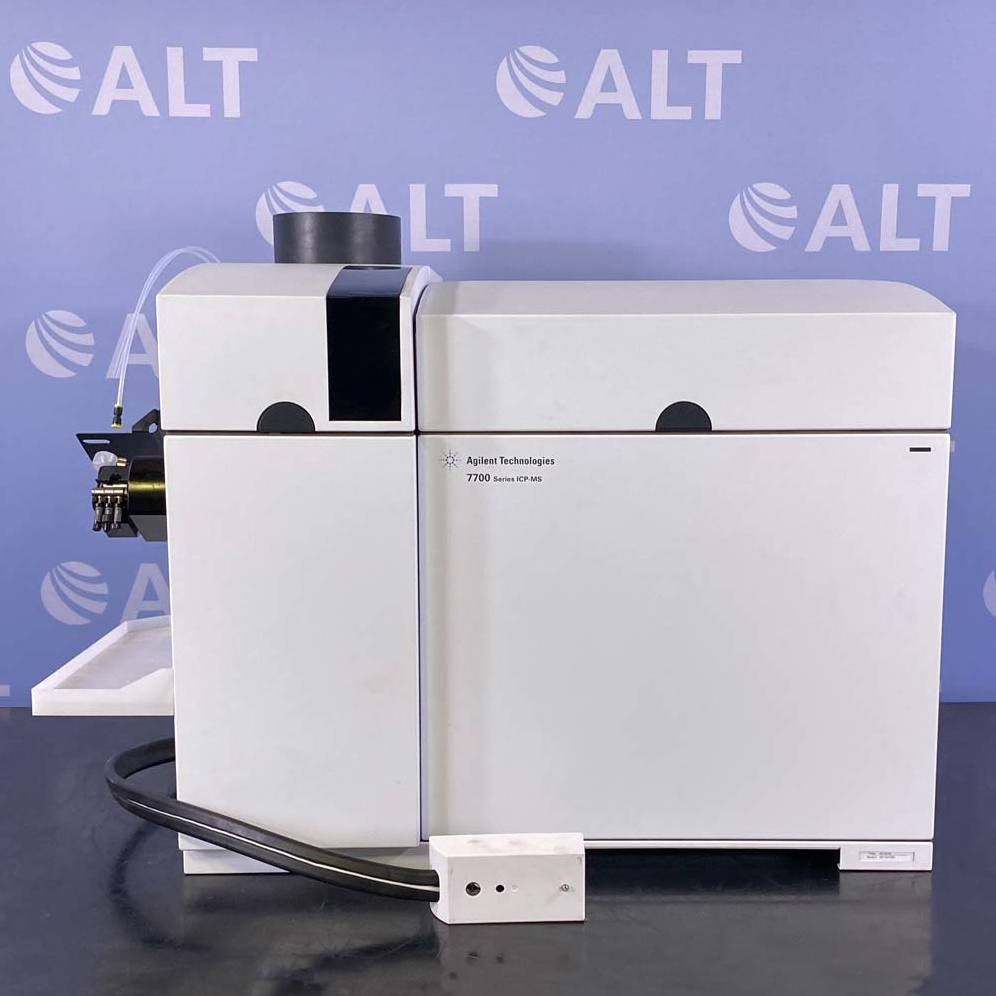 Agilent 7700 Series G3281A ICP-MS with ASX 500 Autosampler, G1879B Heat Exchanger & Edwards 18 Pump Image