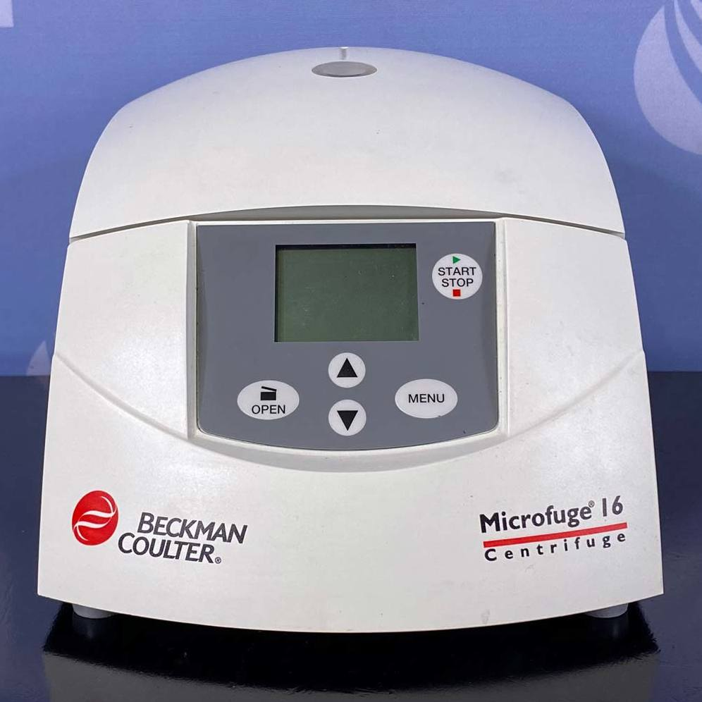 Beckman Coulter Microfuge 16 Centrifuge Image