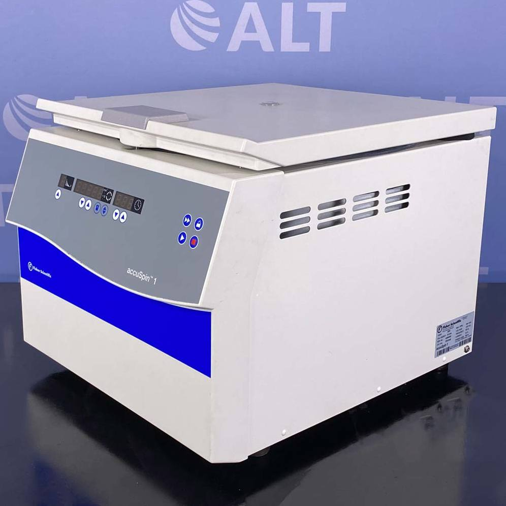 Fisher Scientific accuSpin 1 Benchtop Centrifuge, Cat. 75003448 Image