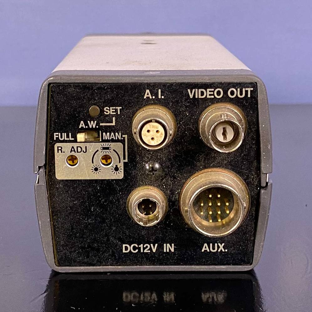 Ikegami ICD-840DC Ultra-High Resolution CCD Color Camera with Optem 25-70-49 Lens Image