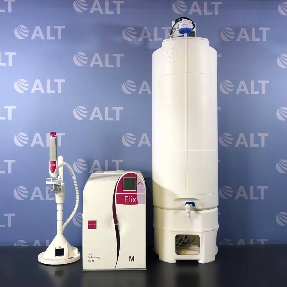 Millipore Elix Advantage 15 UV Water System With E-POD And A 100 Liter PE Water Tank Image