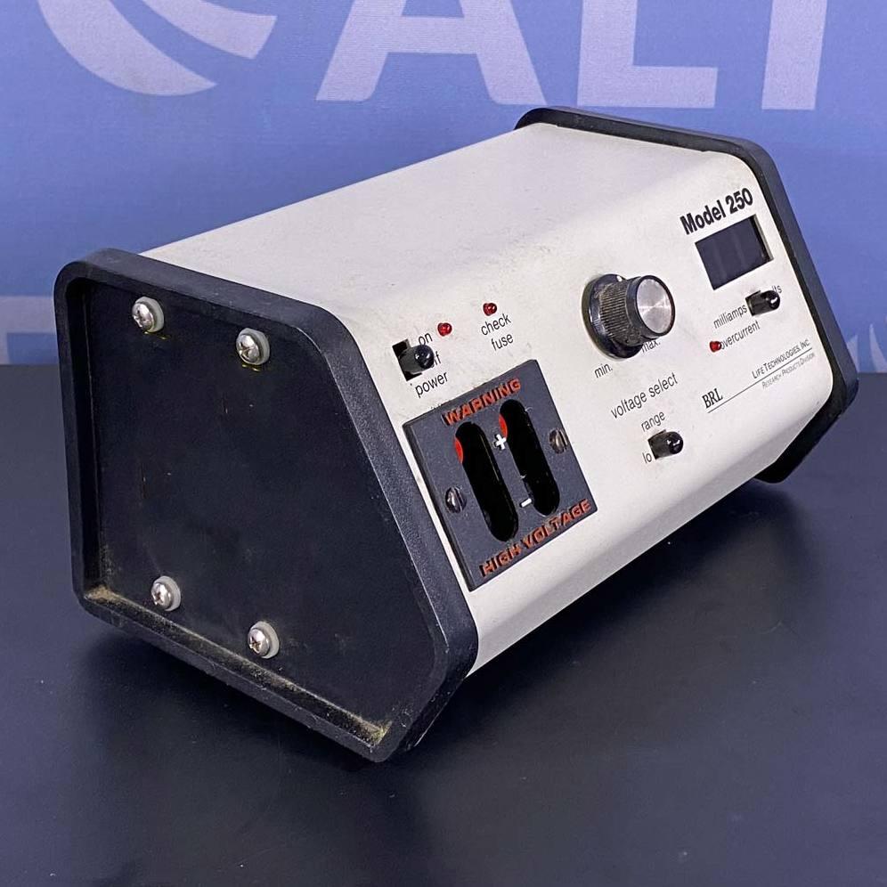 Life Technologies Inc. Electrophoresis Power Supply Model 250 Image