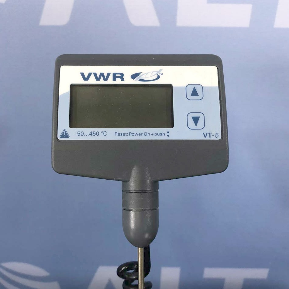 VWR VT-5 S40 Digital Electronic Contact Thermometer Image