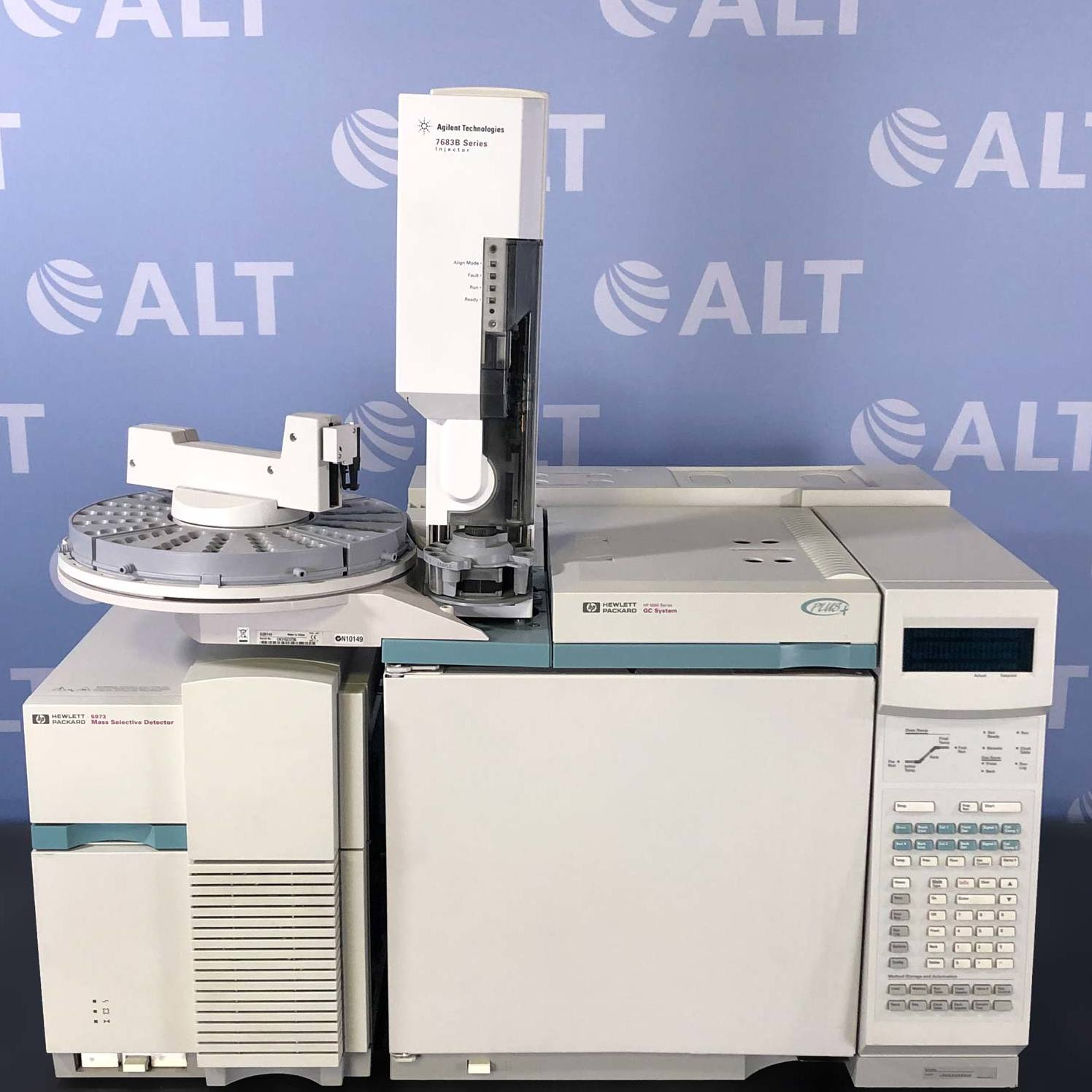 Agilent 6890N Plus (G1530A) GC and 5973 (G1099A) Mass Selective Detector Image