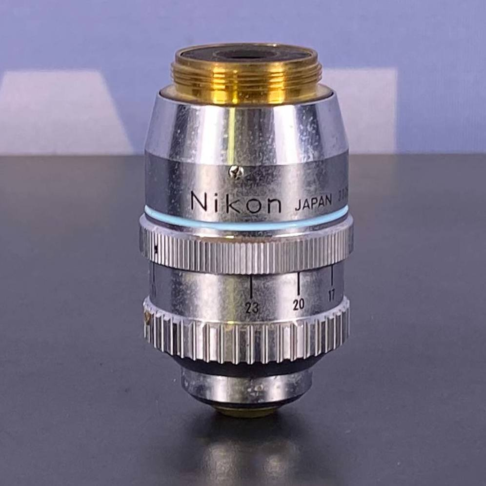 Nikon Nikon Fluor 40 0.85 Ph3DL Microscope Objective, 160/0.11-0.23 Image