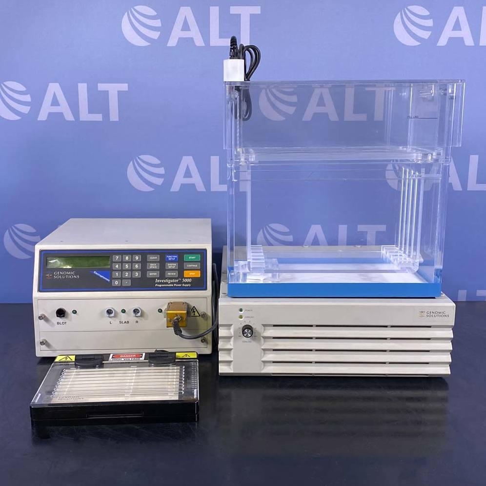 Investigator 5000 2-D Gel Electrophoresis System Name