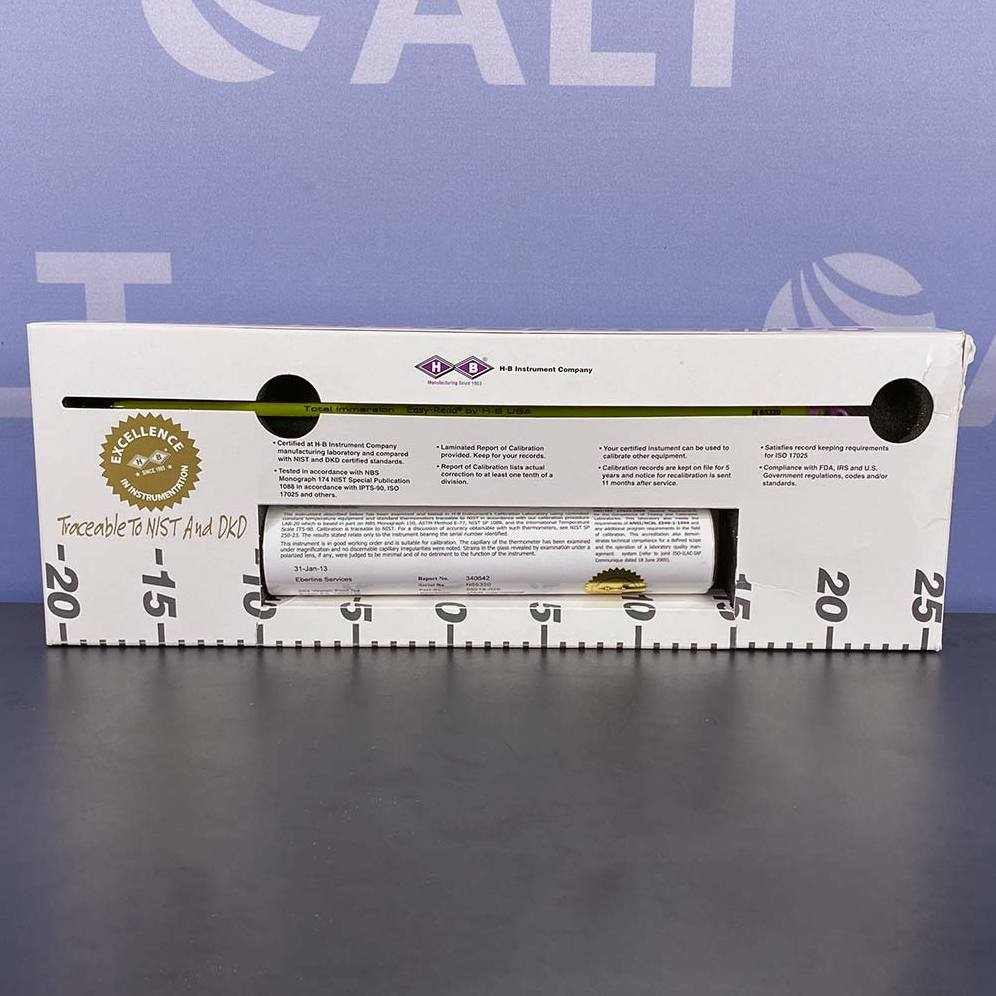 VWR Certified Thermometer, -10 - 225C Image