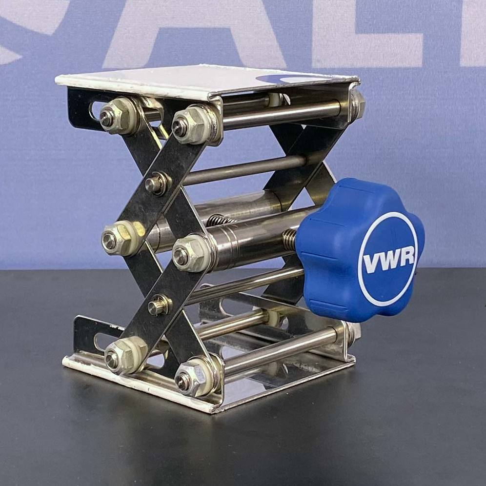 VWR 3 x3 Stainless Steel Lab Lift CAT No. 14233-360 Image