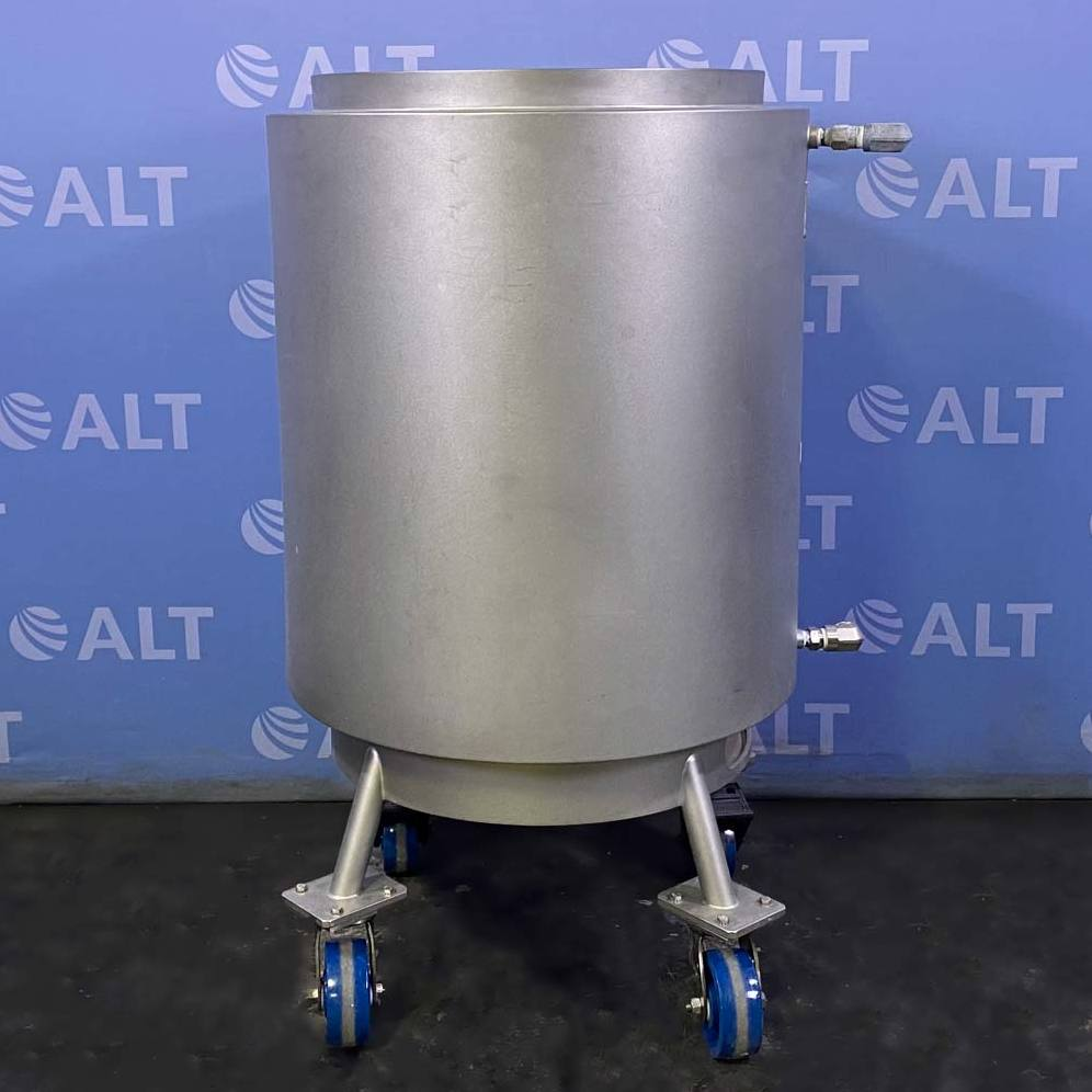 Pall Life Sciences Stainless Steel Mixing Container, 200 Liter Capacity Image