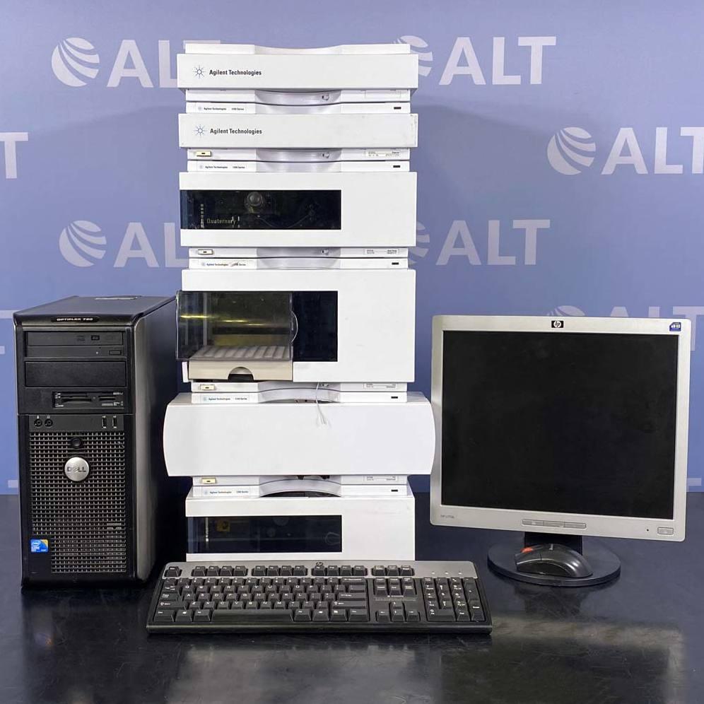 1200 Series HPLC System with G1321A FLD, G1311A Quaternary Pump, G1329A Autosampler Name