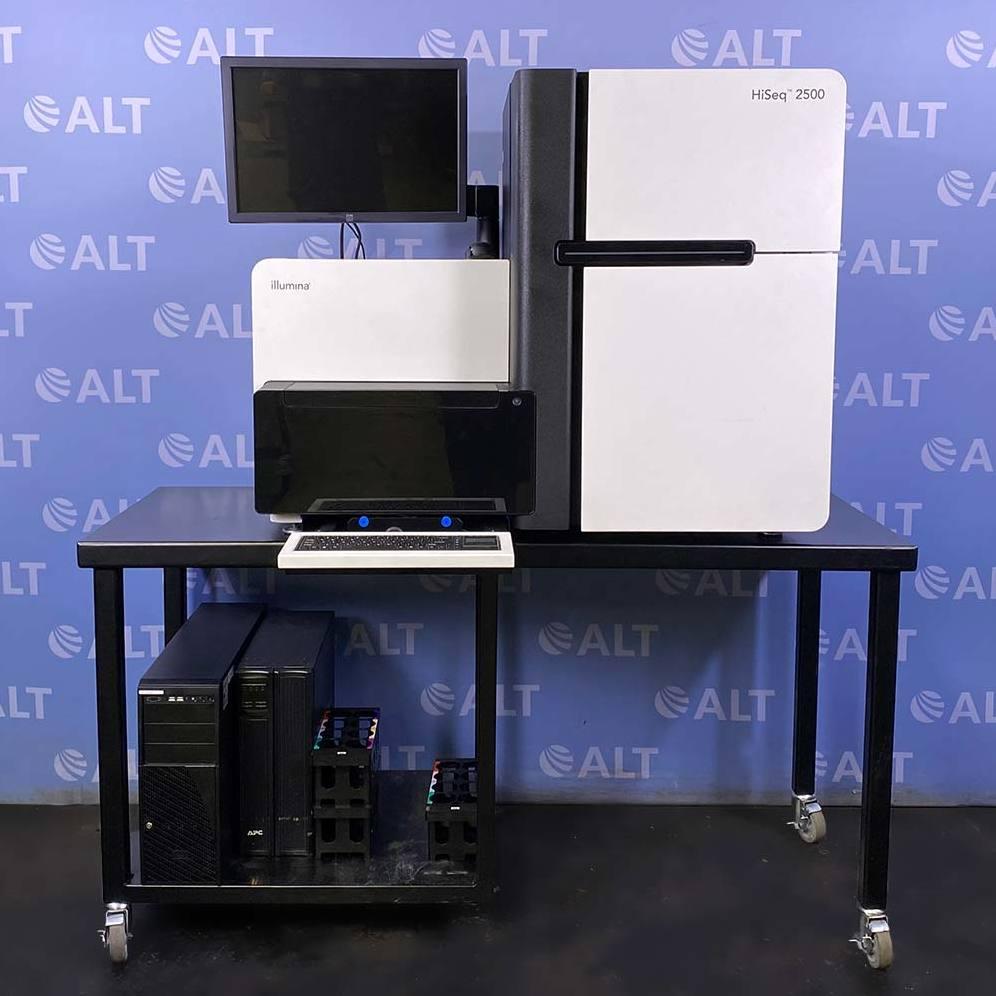 Illumina HiSeq 2500 Large-Scale Genomics Sequencing System Image