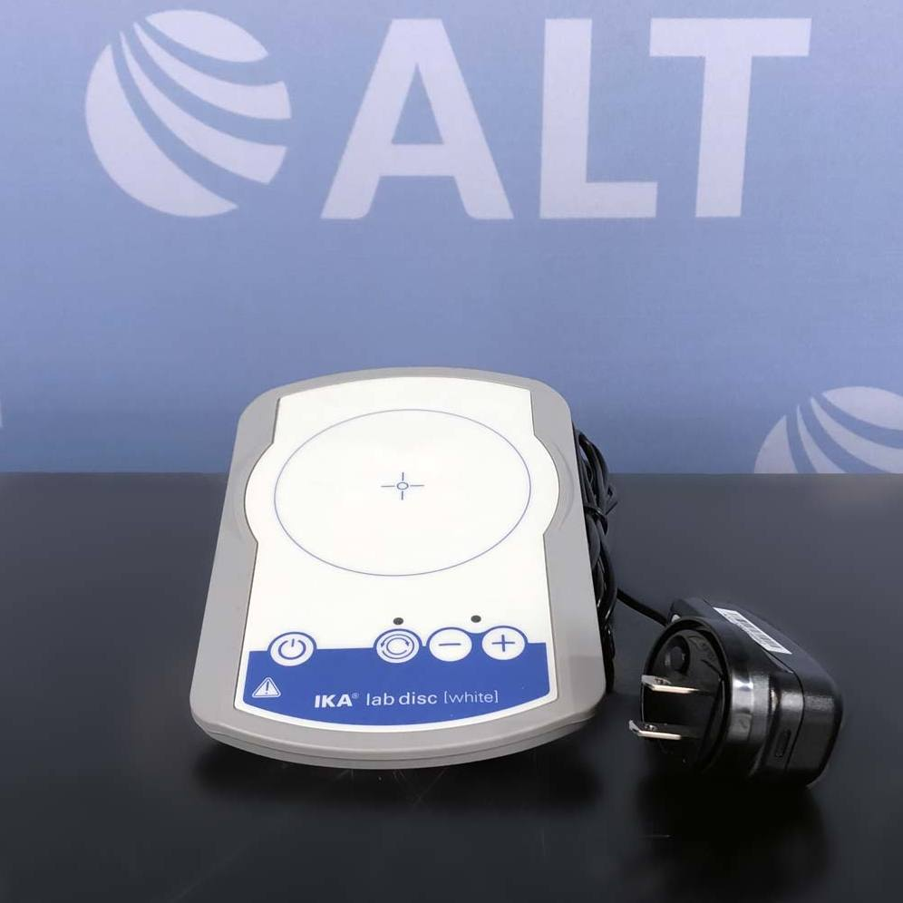 IKA Lab Disc White Magnetic Stirrer Image