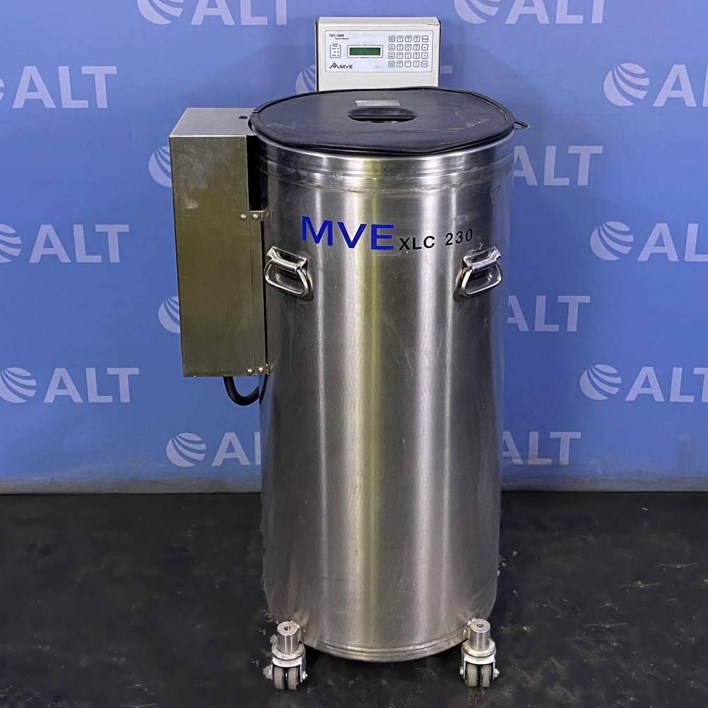 MVE Liquid Nitrogen Freezer, Model XLC 230-F Image