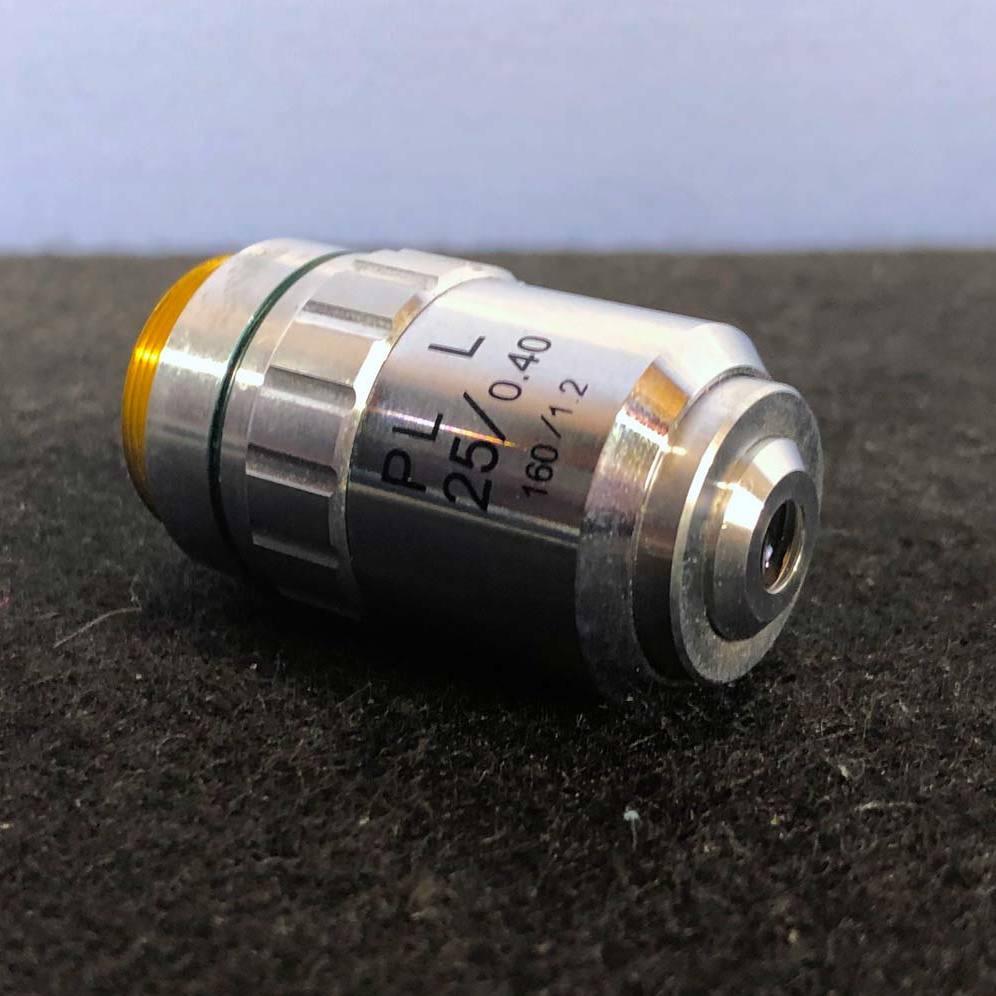 Nikon PL L 25/0.40 160/12 Microscope Objective Image