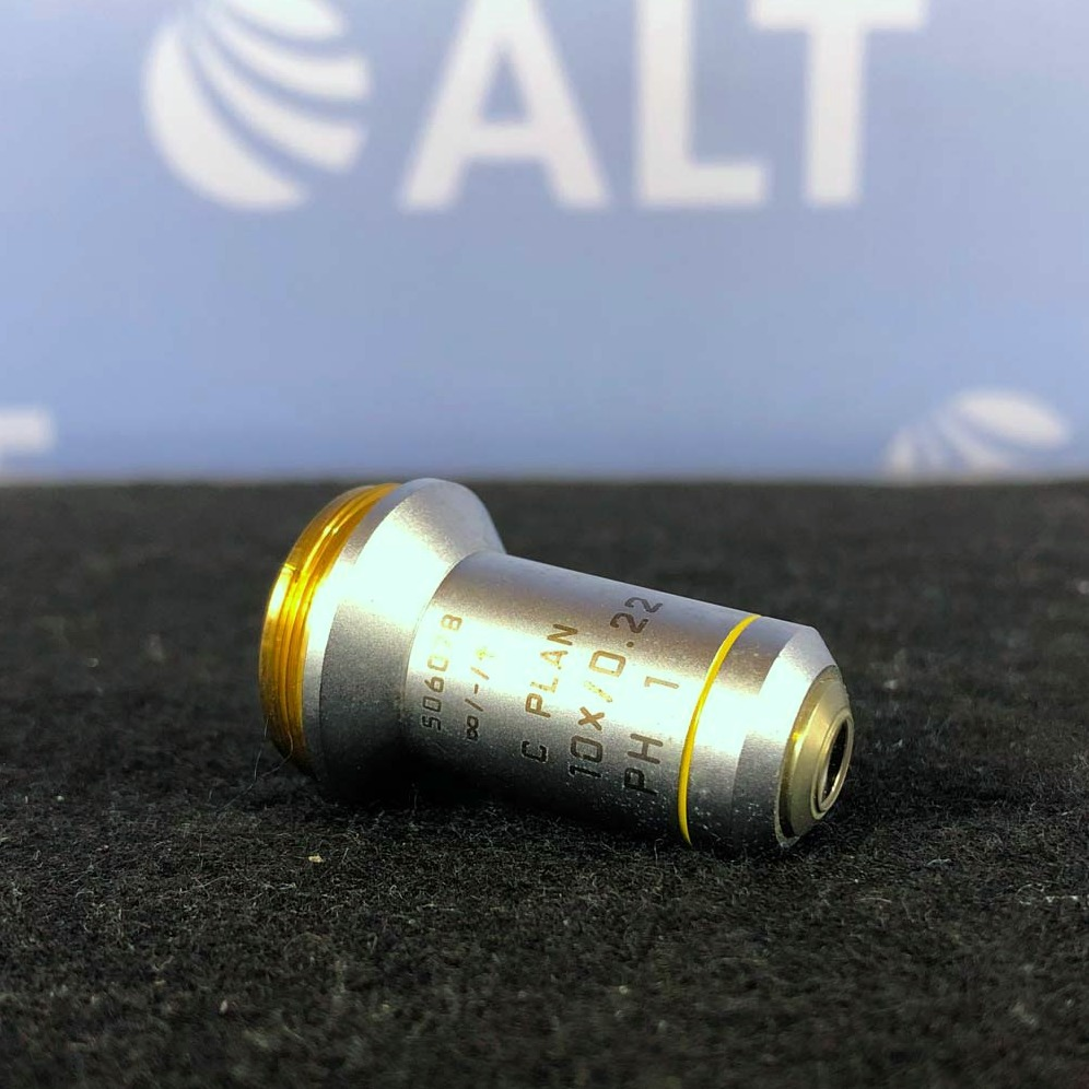 Leica C Plan 10 x 0.22na Microscope Objective Image