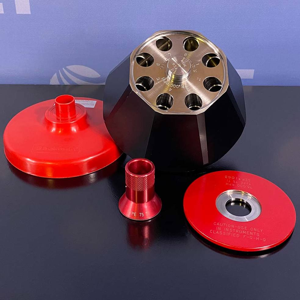 Beckman Coulter Type 75 Ti Fixed Angle Rotor Image