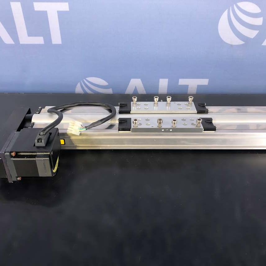 Parker Hannifin 404600XRM Precision Linear Positioner With Vexta ASM66AA Motor Image