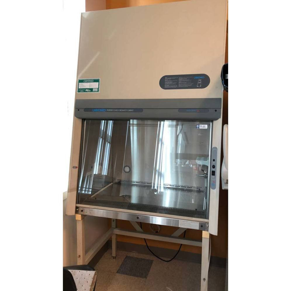 Labconco 3' Purifier Delta Series Class II Type A/B3 Biological Safety Cabinet Model 36208/36209 Image