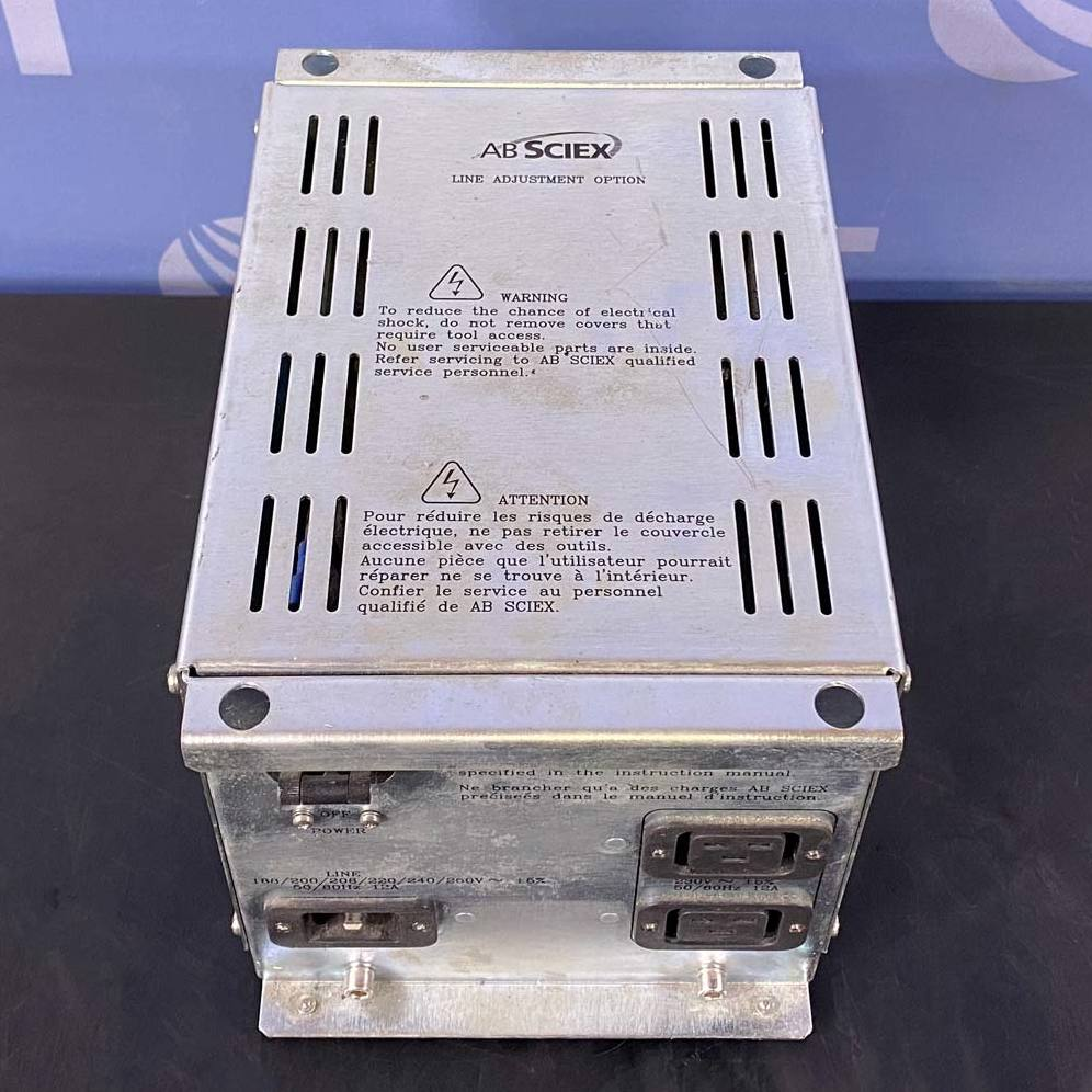 AB Sciex Line Adjustment Transformer Image
