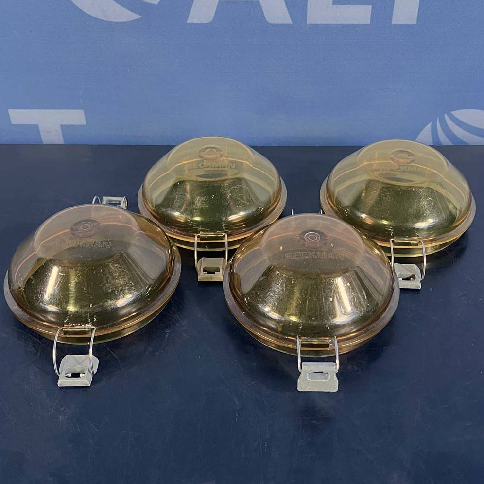 Beckman Coulter GH-3.8 Rotor Bucket Lids, P/N 360585 (Set of 4)  Image