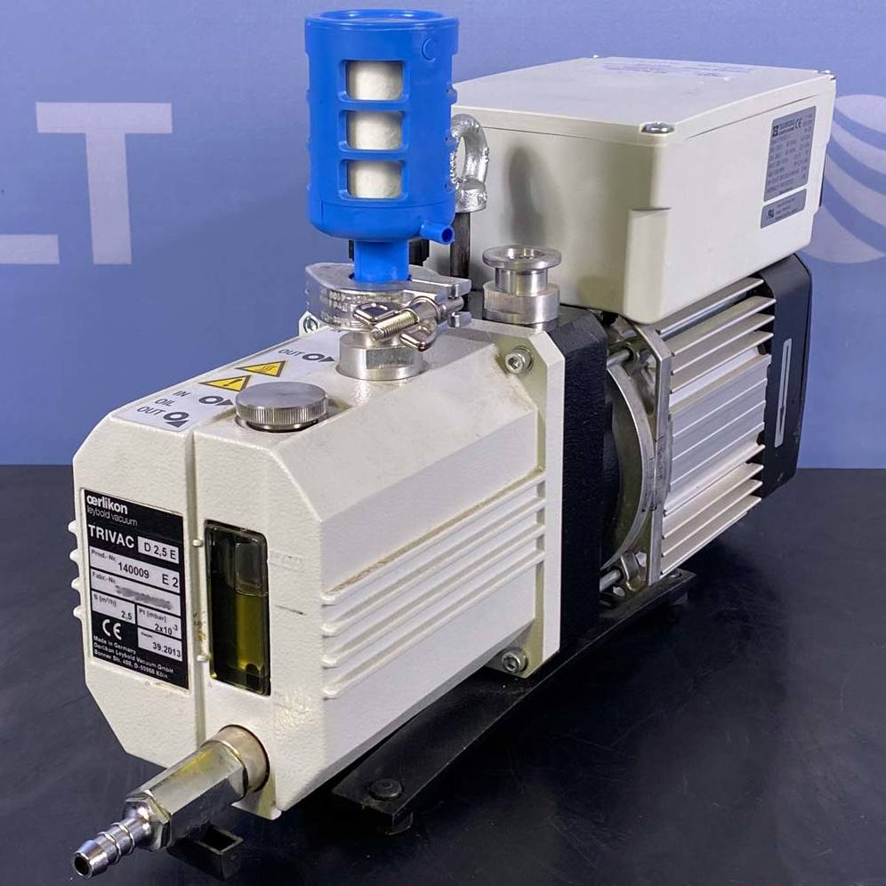 Trivac Two Stage Oil Sealed Rotary Vane Pump, Model D2.5E Image