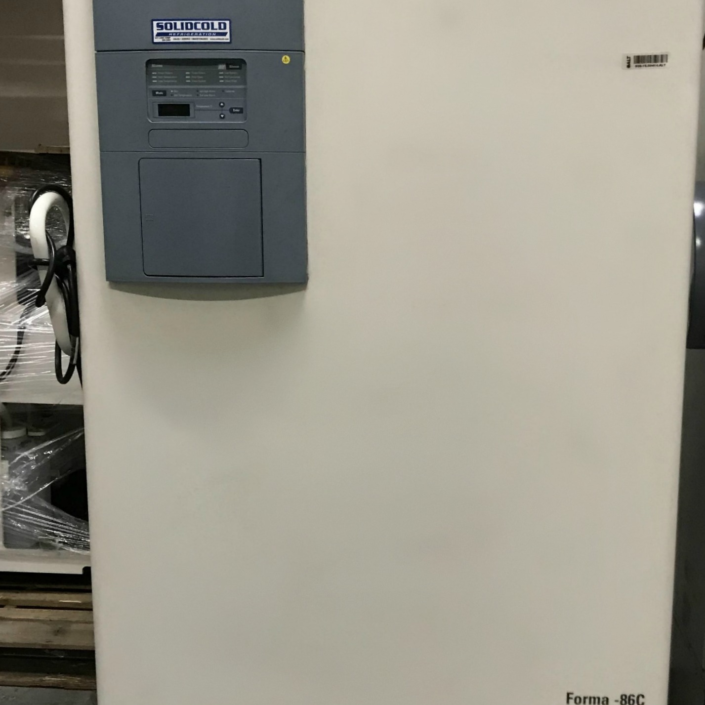 Thermo Electron Corporation Forma -86C ULT Freezer Model 906 Image