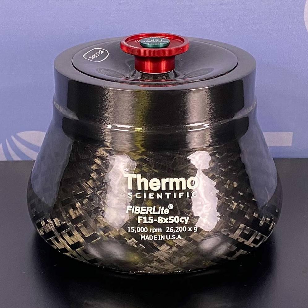 Thermo Scientific Fiberlite F15-8 x 50cy Fixed-Angle Rotor Image