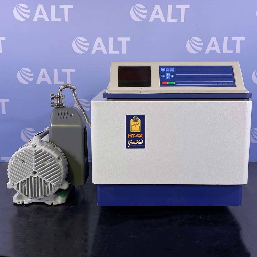 HT-4X Series II Evaporating System with Genvac (BOC Edwards)  Scroll Pump Model XDS5 Name
