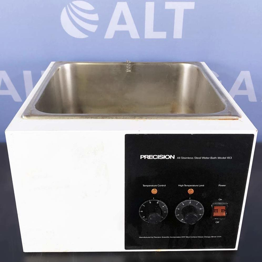 Precision Model 183 Water Bath, CAT No. 66551 Image